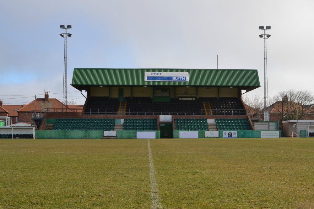 Croft Park Main Stand