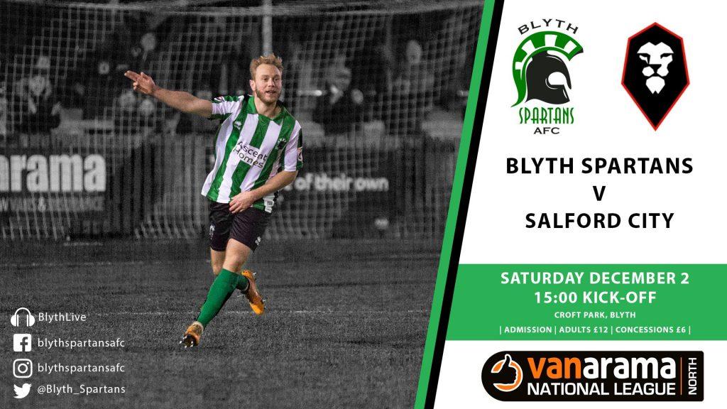 Match Preview | Blyth Spartans v Salford City | Blyth ...