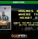 Arrival | Holmes is where the Heart is as Jamie joins Spartans