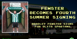 Arrival | Fewster becomes Spartans' fourth summer signing