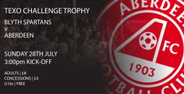 Texo Challenge Trophy | Blyth Spartans v Aberdeen FC