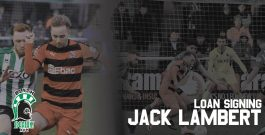 Arrival | Lambert signs on loan from Scunthorpe