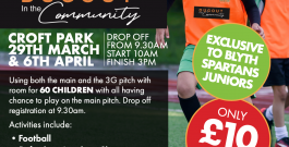 Community Programme | Easter soccer camps